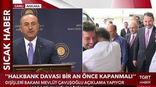 """Çavuşoğlu: """"Hakan Atilla Zor Şartlarda Bile Ülkesini Savundu"""""""