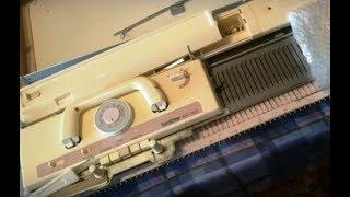 Моя мечта! Вязальная машина 3-го класса Brother KH-260. Посылка из России