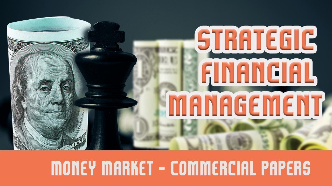 money market commercial paper Financial market participants commonly distinguish between the capital market and the money market the money market you are lending money commercial paper.