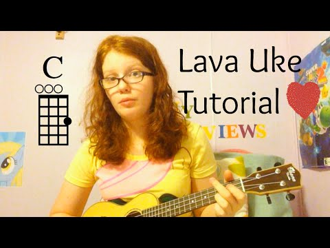 Lava (Pixar) Ukulele Tutorial - YouTube