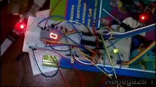 Беспроводная передача данных с помощью NRF24L01+