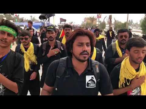 Zamin Ali Walk Najaf To Karbala. ROE THI ROZ SUGHRA