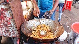 Fastest Man Making Manchurian Noodles |  Mumbai Chinese Food | Indian Street Food