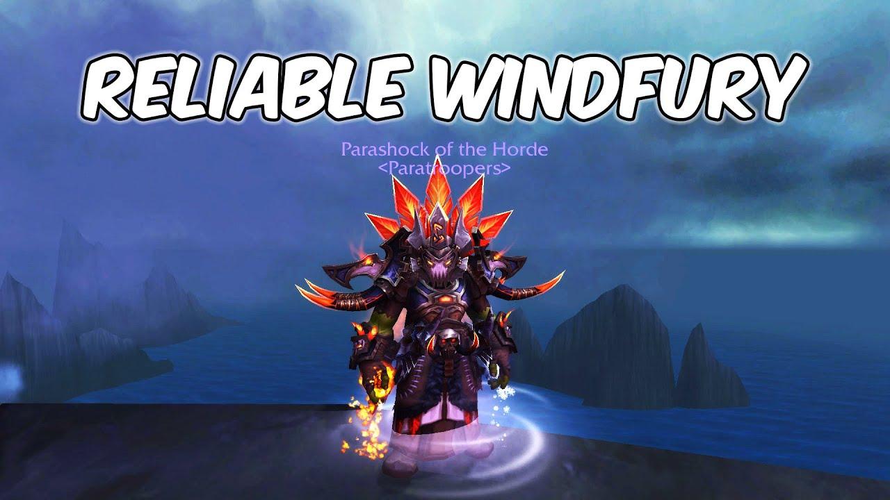 Reliable Windfury - Enhancement Shaman PvP