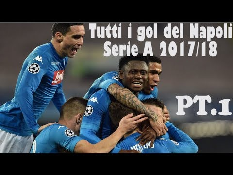 Tutti i goal e le azioni del Napoli serie A 2017/18 (girone d'andata)