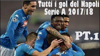 Goal e azioni del Napoli serie A 2017/18 (girone d'andata) streaming