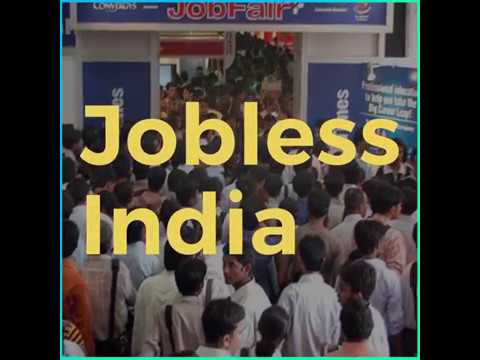 Jobless India: No Employment And Stressed Youth