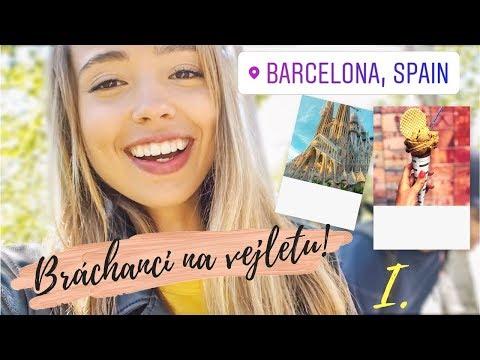 BARCELONA 2018 | ČÁST I. | VLOG | Après-chic