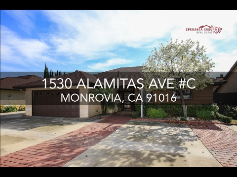 The Speranta Group Presents: 1530 Alamitas Ave #C, Monrovia