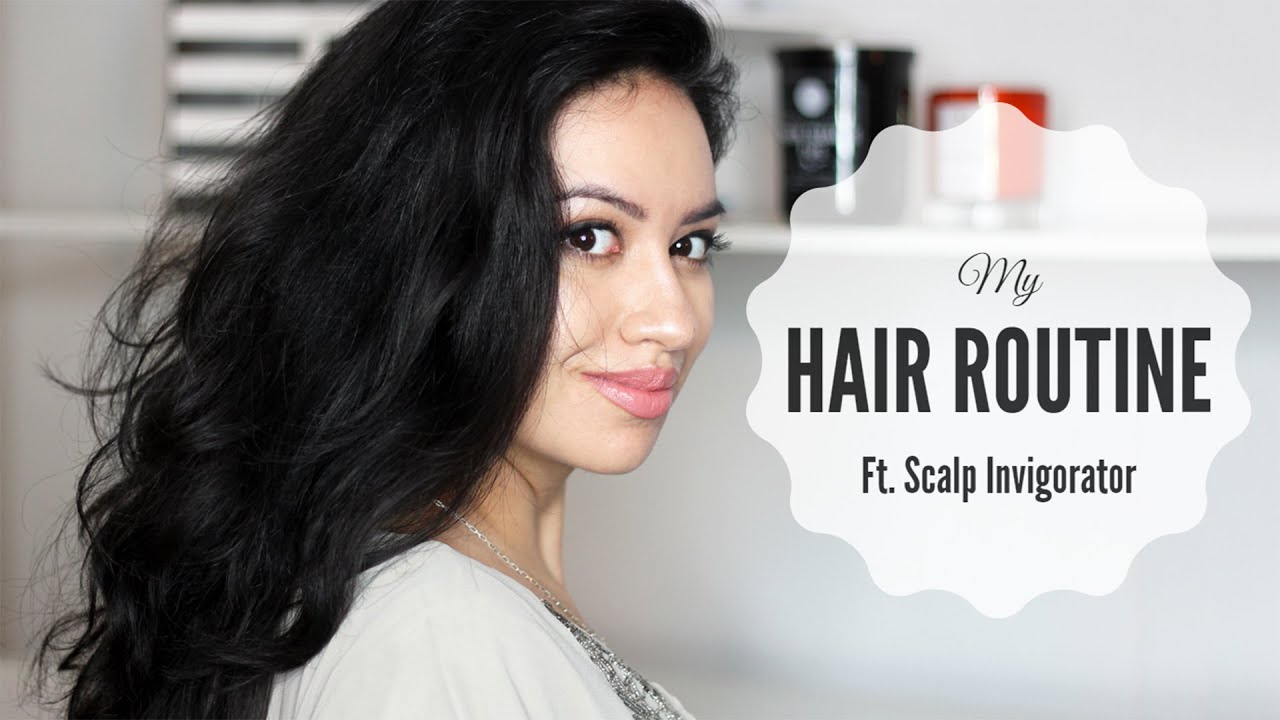 hair routine thick wavy unruly