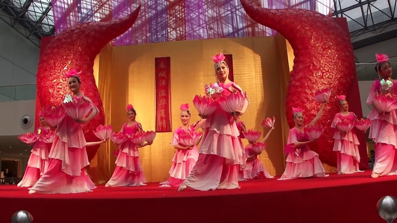 古典女子群 荷花舞 杭州藝術學校 Chinese Dance Quot Lotus Flowers Quot By
