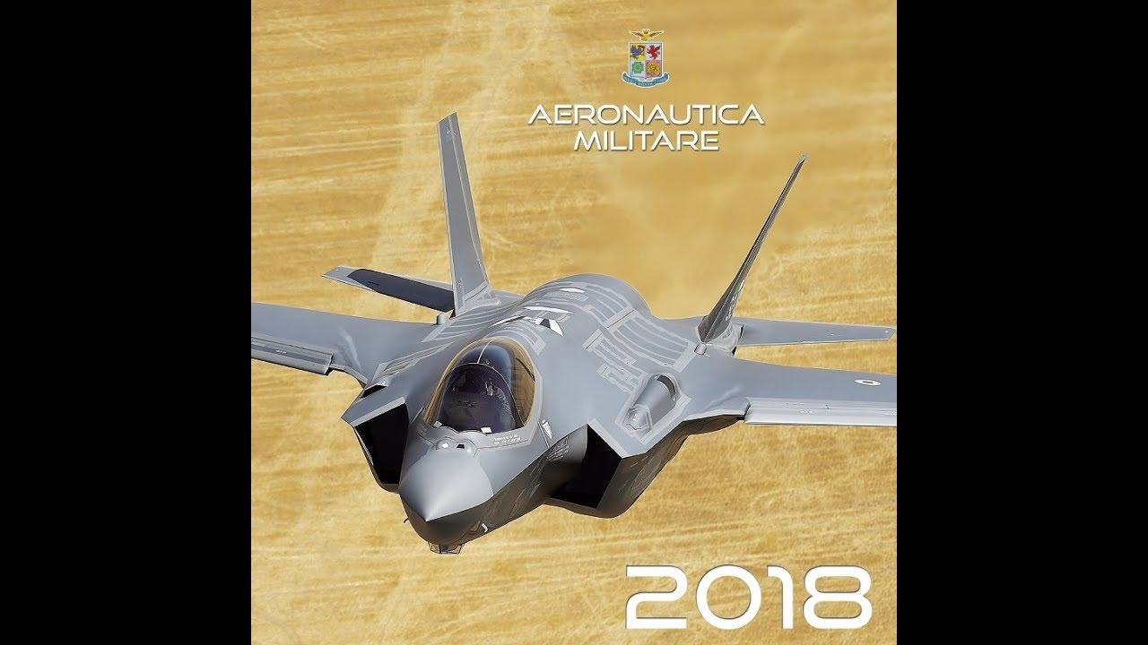 Calendario F.Presentazione Del Calendario 2018 Dell Aeronautica Militare