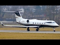 Stunning! Gulfstream Aerospace G-IV Take Off at Bern