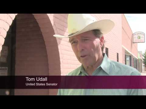 Senator Tom Udall Tours Downtown Las Cruces