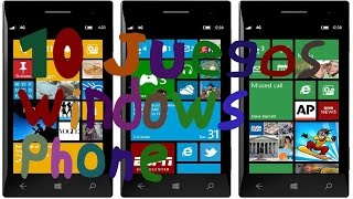 top 10 juegos para windows phone 8 y 8.1
