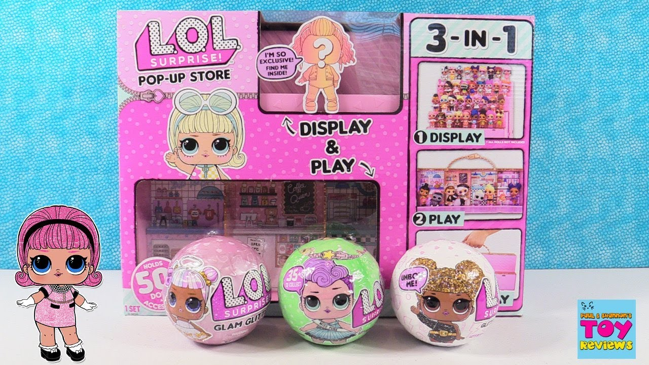 Surprise 3 in 1 Pop-Up Store Carrying With Exclusive 1 Amazing Doll! L.O.L