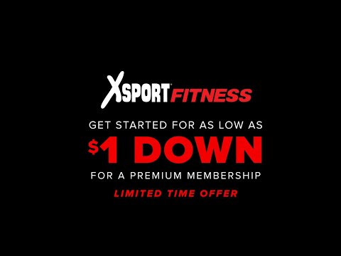 XSport Fitness - Join For Only $1 Down