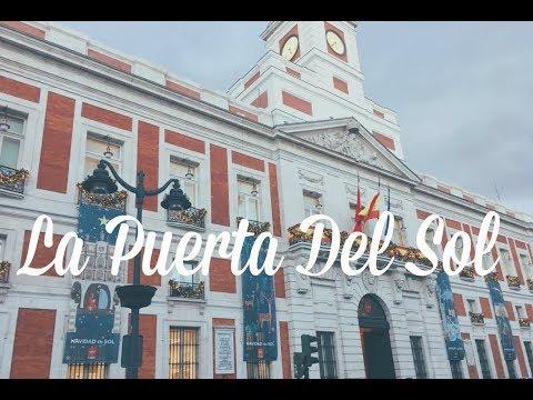 La Puerta Del Sol Madrid | The door of the Sun