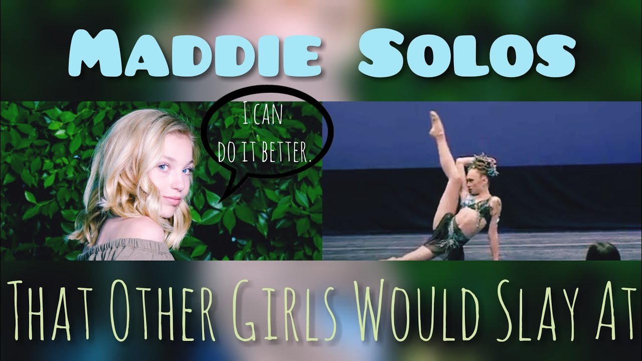 Maddie Solos Each DM Girl Would SLAY - YouTube
