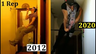 8 YEARS One Arm Muscle Up Evolution (2012 - 2020)