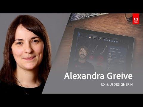 Live App Design mit Alexandra Greive - Adobe Live 3/3