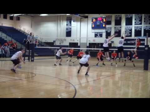 Boys Volleyball- CR North vs. Pennsbury  (2015)