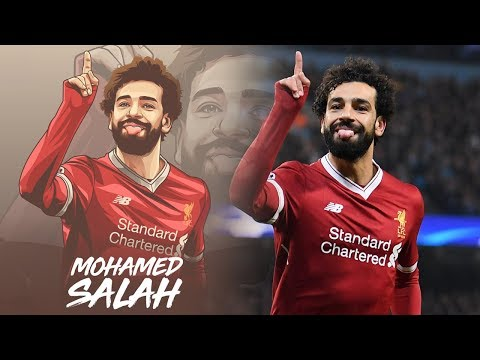 MOHAMED SALAH VECTOR ART | #SPEEDART