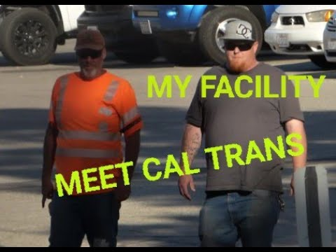 CAL TRANS,  ( WORKER SAYS IT'S HIS FACILITY )  WRONG!!!  1st Amendment Audit