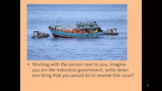 VCE Global Politics Indonesia NI Refugee Policy
