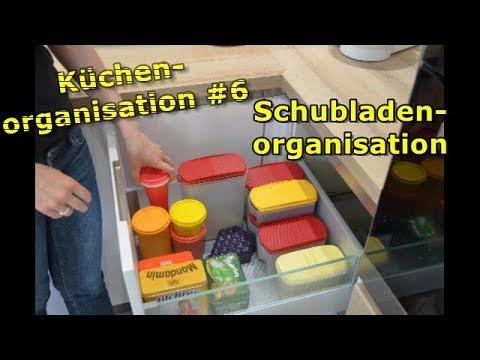 Küchen Organisations Tour #6   Schubladenorganisation   Aufbewahrung Trockenvorräte