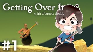 今日表演Speedrun依隻Game! | Getting Over It with Bennett Foddy #1