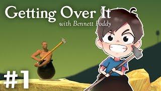 今日表演Speedrun依隻Game! | Getting Over It with Bennett Foddy #1