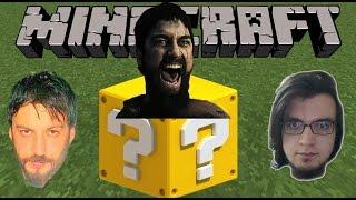 Şans Blokları Modu | Minecraft Türkçe Lucky Block | Takla Kapışma