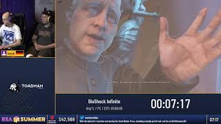 #ESASummer18 Speedruns - BioShock Infinite [Any%] by henyK