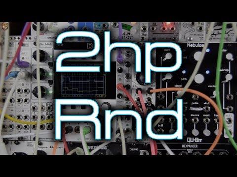 2hp Rnd (smooth & stepped random CV and random gates)