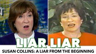 Susan Collins: An Abhorrent Liar Since The 90s