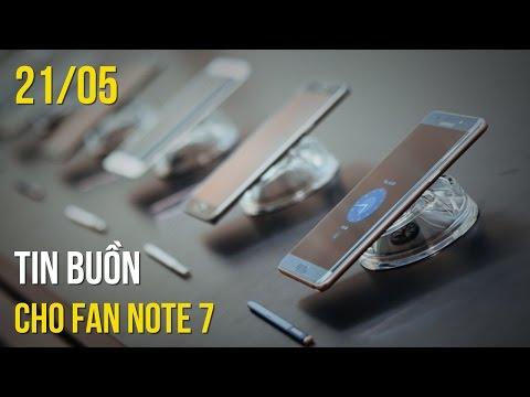 Galaxy Note 7 tân trang không bán ở Việt Nam, iOS gặp nhiều lỗi hơn Android