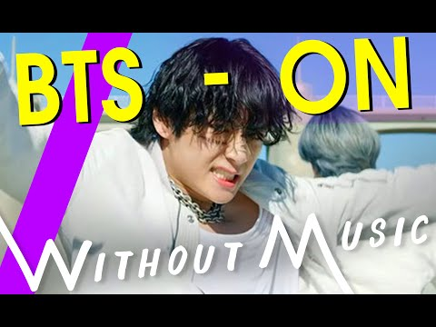 Bts   On But With Realistic Sounds   #without Parody