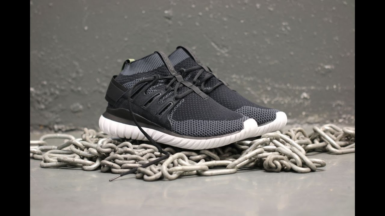 Adidas Tubular Radial Black/White Size Us 9.5 Men's Shoes