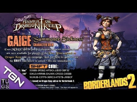 borderlands 2 golden key shift codes ps4