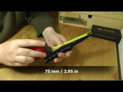 Kizlyar Supreme Hero 440C Black EDC Gear Werkzeug Multitool