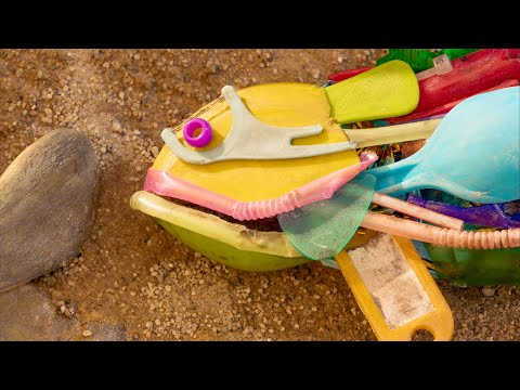 Corona and Parley's stop-motion film shows how plastic impacts wildlife