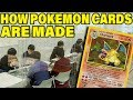 How New Pokemon Cards Are Made