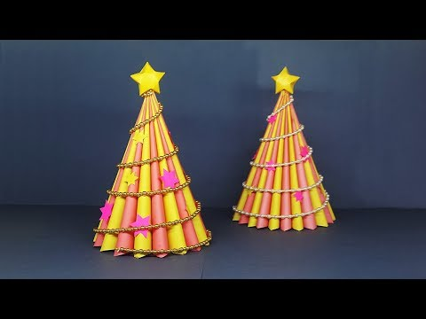 DIY 3D Paper Christmas Tree | Christmas Crafts