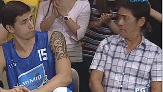 Vampire Ang Daddy Ko: Basketball tips from Marc Pingris