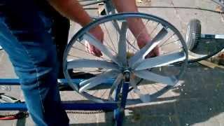 Homemade Gym Equipment: Rowing Machine Part 1/2