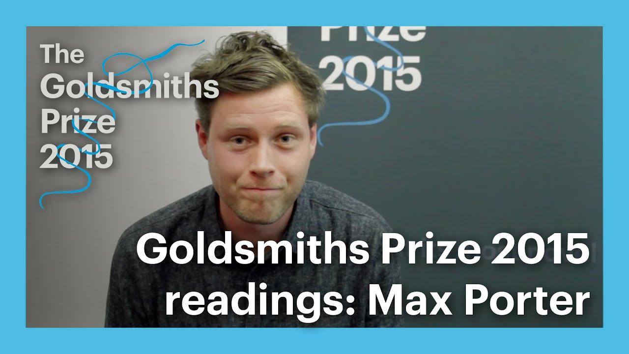 Max Porter - Kaynak: The Goldsmith Prize 2015