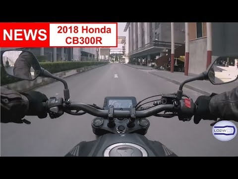 2018 New Honda CB300 R Neo Sports Cafe