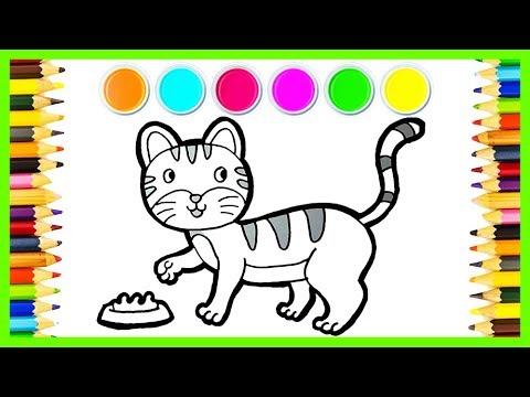 4800 Gambar Untuk Mewarnai Hewan Kucing HD Terbaik