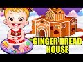 Baby Hazel Gingerbread House | Fun Game Videos By Baby Hazel Games
